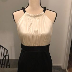 Jones Wear Dresses - Black and white cocktail dress.